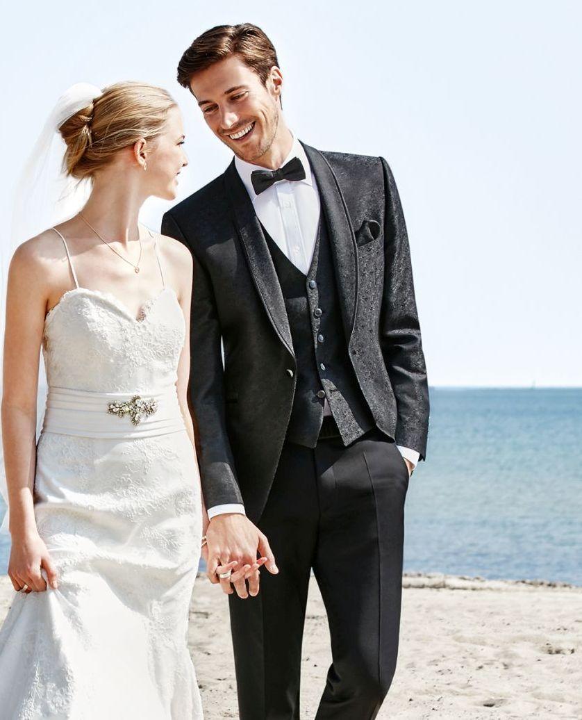 garnitur ślubny smokingowy