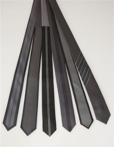 krawaty szare