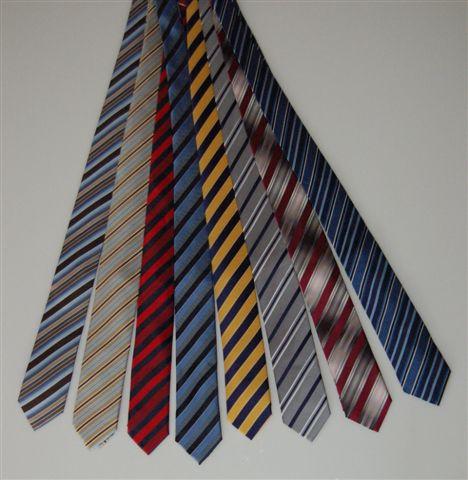 krawaty w paski