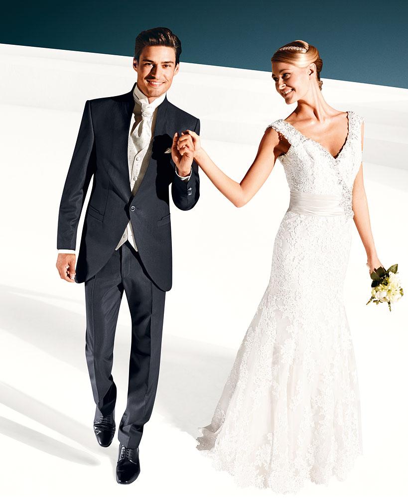 garnitur ślubny surdutowy